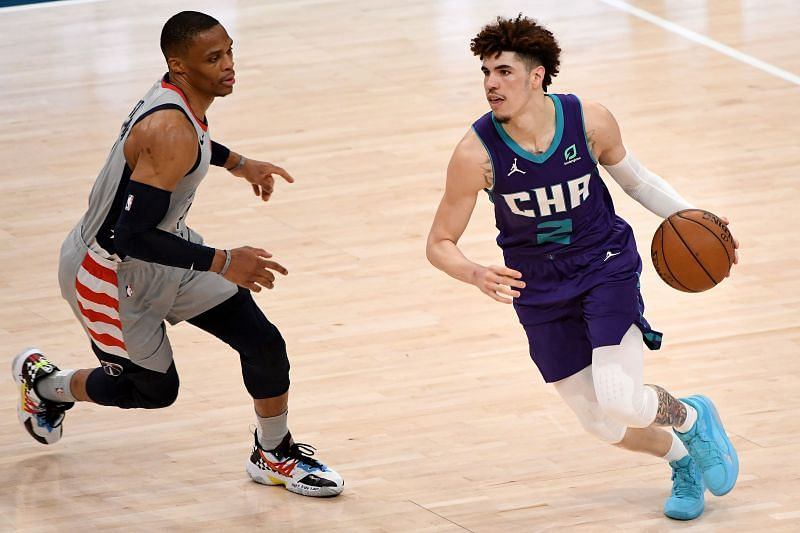 Charlotte Hornets rookie LaMelo Ball