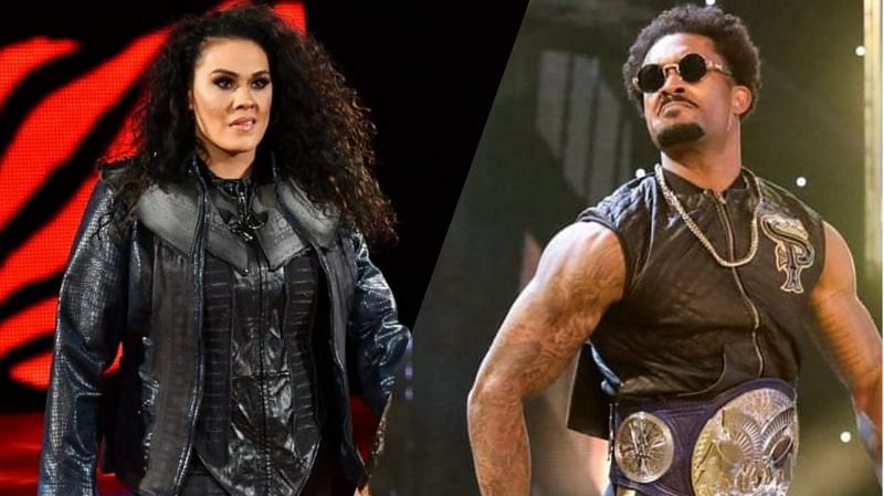 Tamina Snuka and Montez Ford are currently on SmackDown (Credit: WWE)
