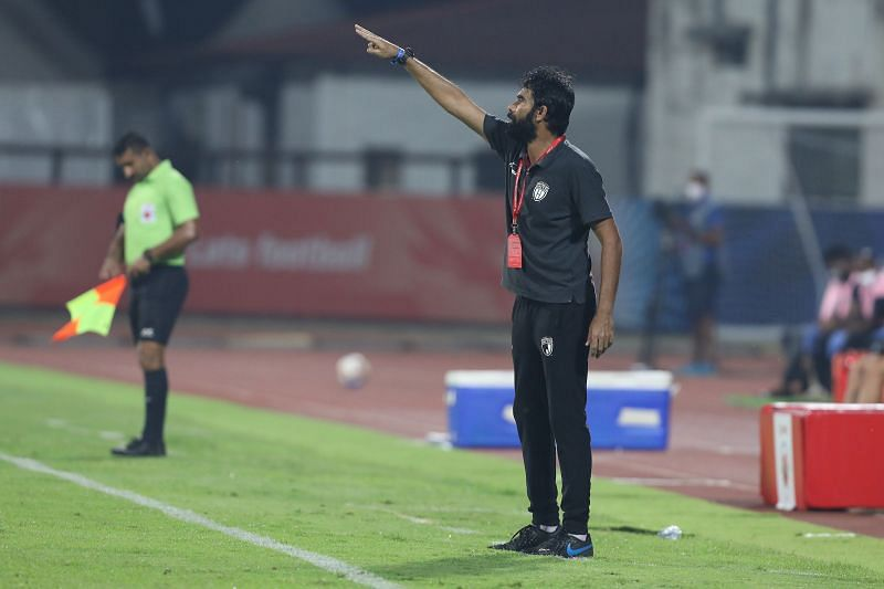 Ashutosh Mehta has played under Khalid Jamil (in picture) for Mumbai FC, Aizawl FC, and now NorthEast United FC in the ISL