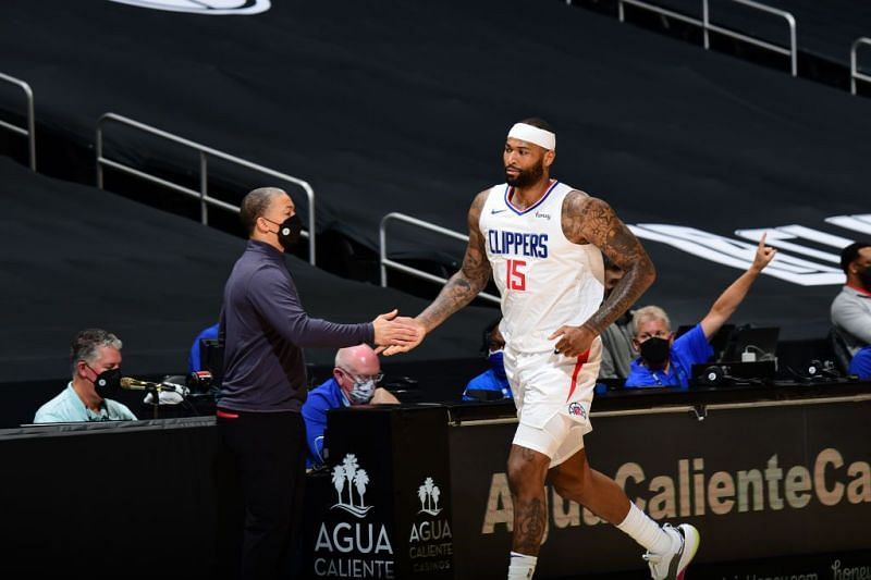 DeMarcus Cousins has strengthened the LA Clippers frontcourt. Picture credits: slamonline.com