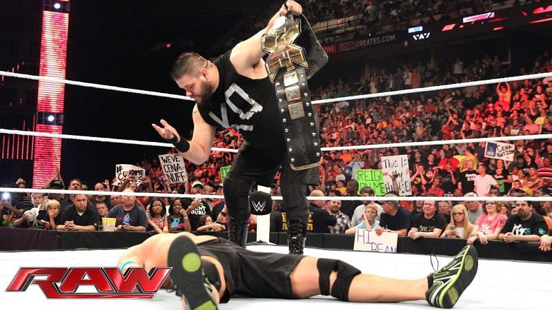 Kevin Owens taunted John Cena after attacking him on RAW