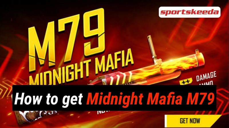 Free Fire players have an opportunity to obtain the exclusive Midnight Mafia M79 gun skin from the new Midnight Mafia M79 Box Loot Crate (Image via Sportskeeda)
