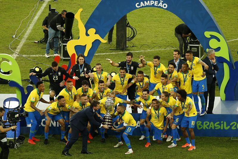 Brazil won the Copa America 2019