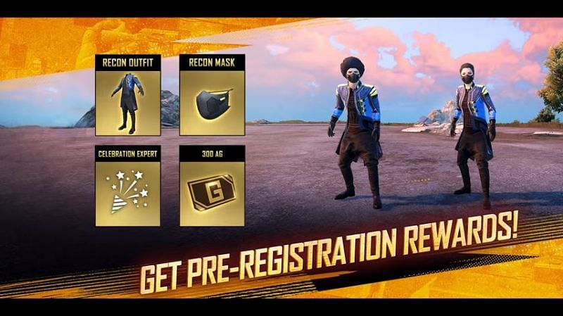 Players will receive numerous pre-registration rewards (Image via Battlegrounds Mobile India)