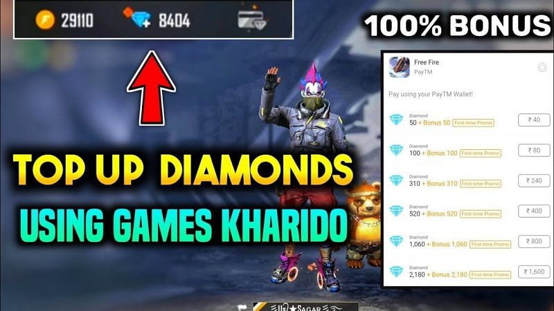 Bonus top-up is only applicable for the first time (Image via ULTIMATE VERSION, YouTube)
