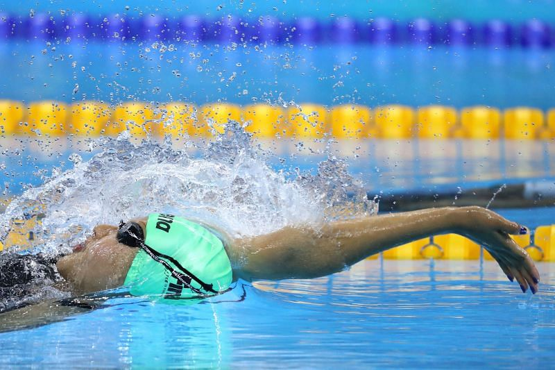 Gaurika Singh in action at the Rio 2016 Olympic Games