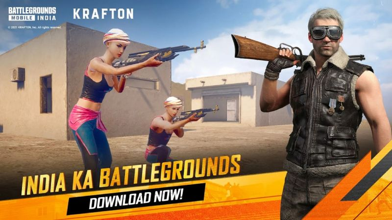 A step-by-step guide to download Battlegrounds Mobile India (Image via Battlegrounds Mobile India / Google Play Store)