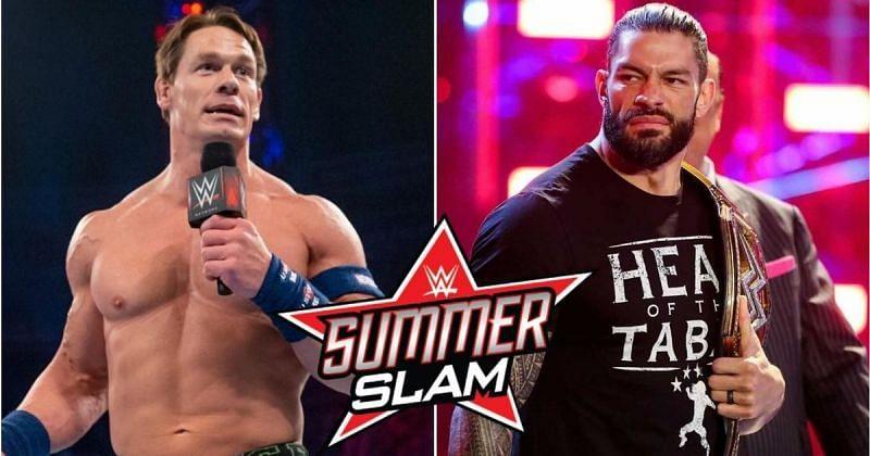 John Cena, to face Roman Reigns?