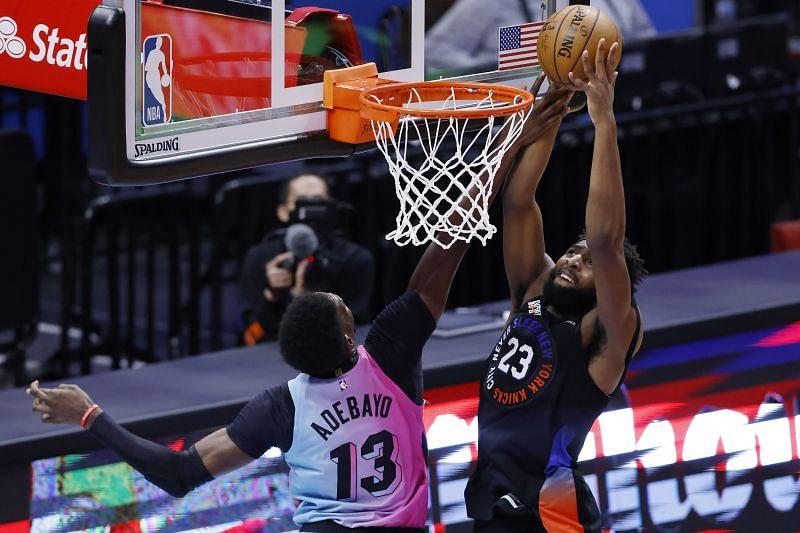 New York Knicks center Mitchell Robinson