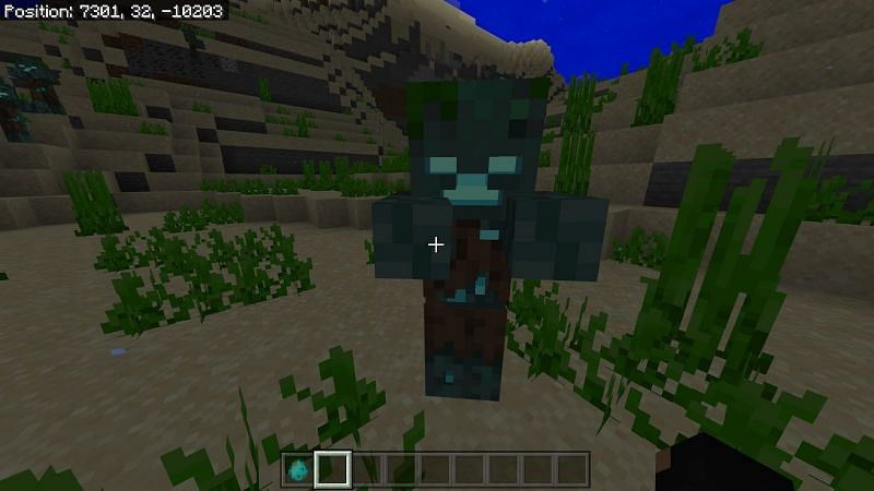 Players do drowned farming in Minecraft to get tons of different resources (Image via Sportskeeda)