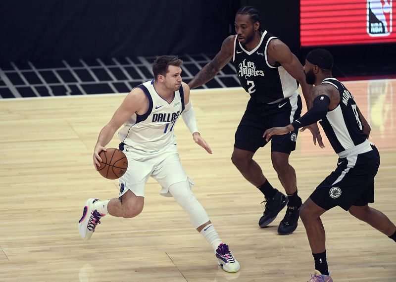 The LA Clippers struggled to guard Luka Doncic in their first round series