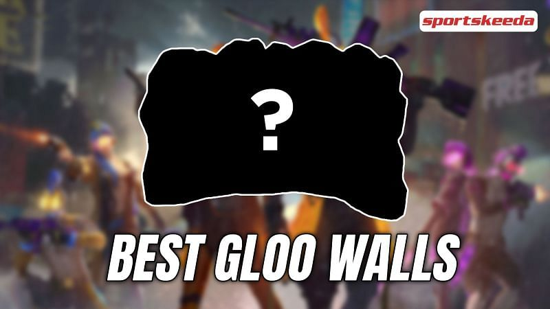 Listing the best gloo wall skins for Free Fire