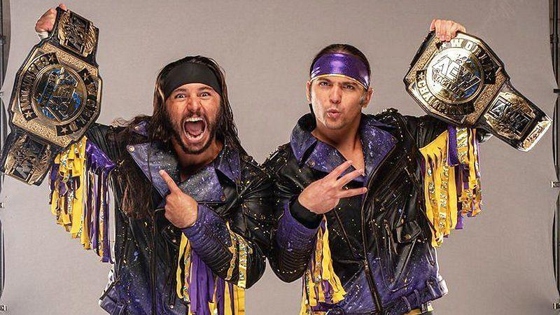 AEW Tag Team Champions Young Bucks