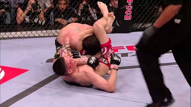 Nate Diaz thoroughly embarrassed Kurt Pellegrino by submitting him - and flipping him off in the process