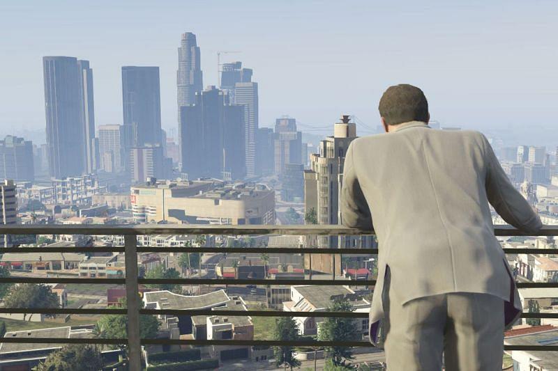 Los Santos apparaît à la fois dans GTA V et GTA San Andreas (Image via: polygon.com)