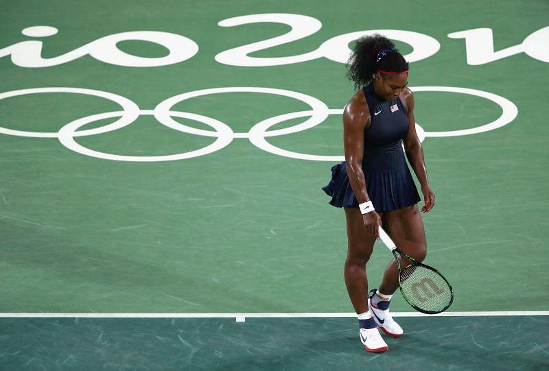 Serena Williams at the 2016 Rio Olympics