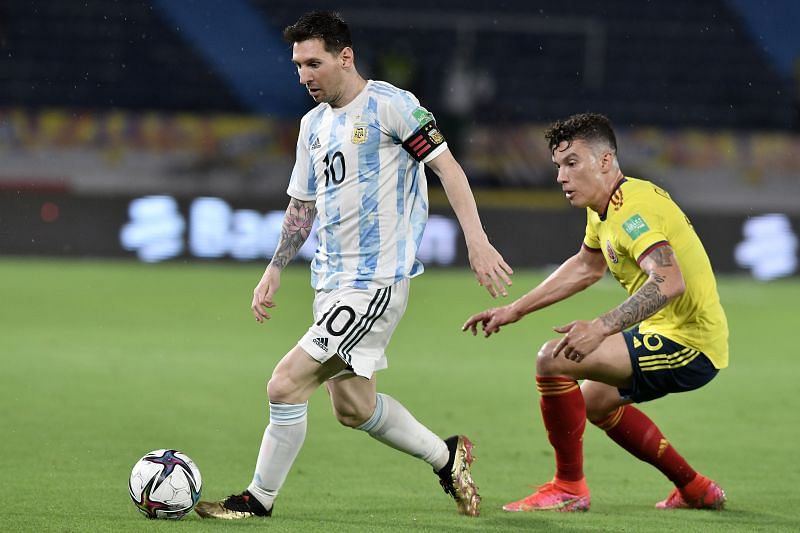 Argentina and Colombia played out a thrilling 2-2 draw on Tuesday