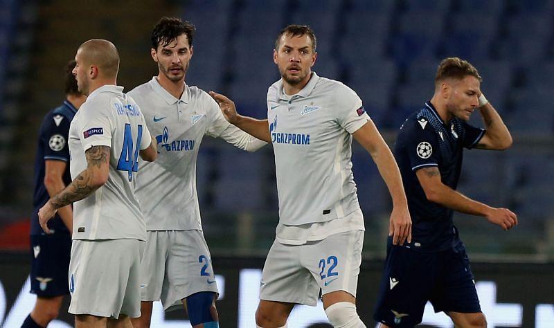 SS Lazio v Zenit St. Petersburg: Group F - UEFA Champions League