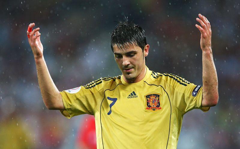 David Villa is Spain