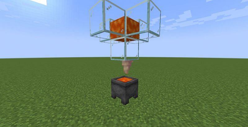 Renewable lava (Image via Minecraft)