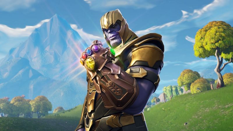 Win the Thanos skin in Fortnite by competing in the Thanos Cup (Image via Fortnite/Epic Games)