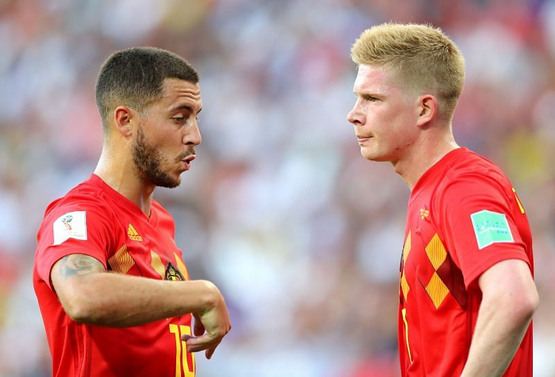 Belgium are missing a few key players