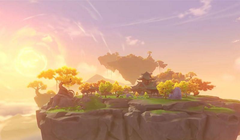 The Serenitea Pot will see some important upgrades in 1.6 (image via Genshin Impact)