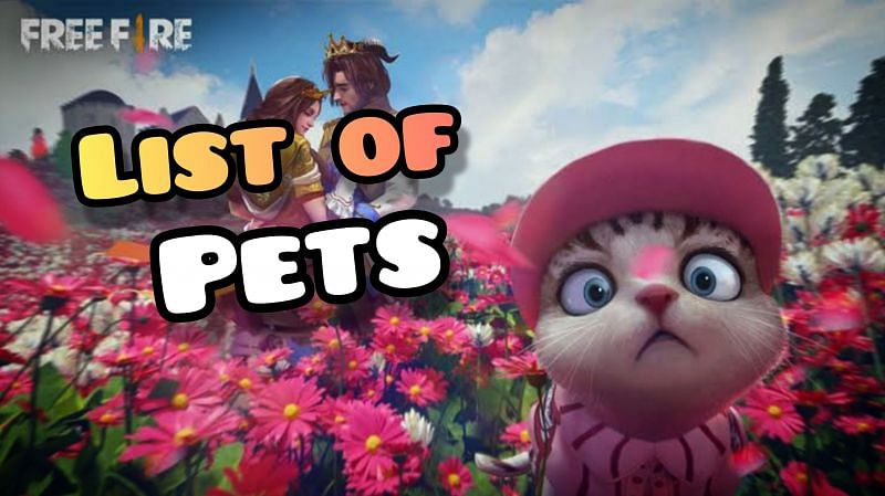All Free Fire pets, except for Mechanical Pup and Kitty, have special abilities