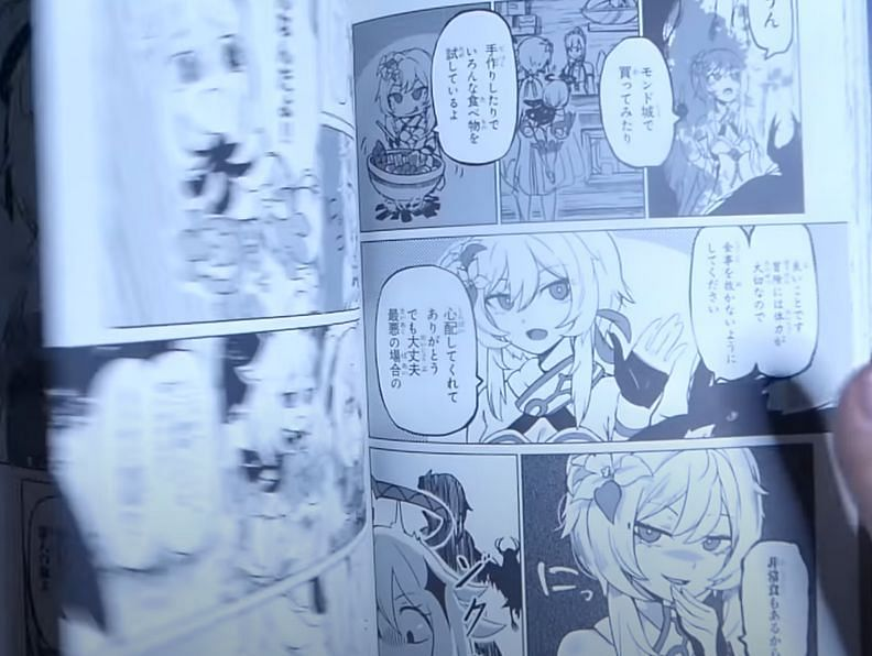 There are a lot of shenanigans in this manga (Image via RedFlaim)