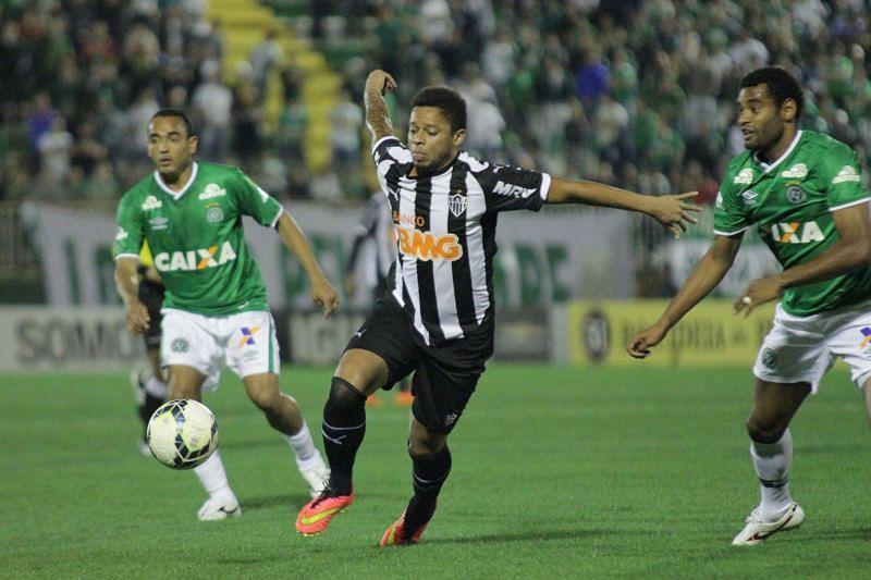 Atletico Mineiro take on Chapecoense on Tuesday