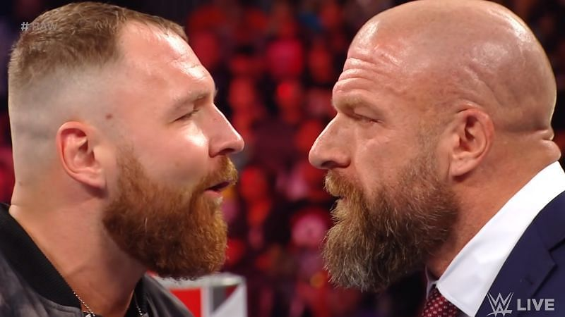 Jon Moxley (f.k.a. Dean Ambrose) and Triple H