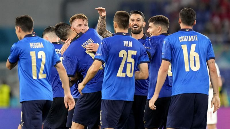 Italy secured a comfortable 3-0 victory over Switzerland