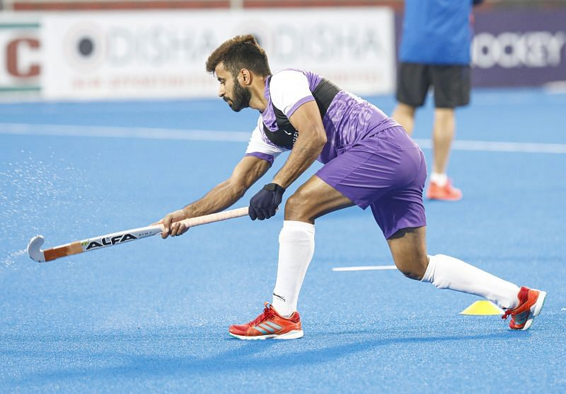 India captain Manpreet Singh to play a crucial role at the Tokyo Olympics. (Source: Hockey India)