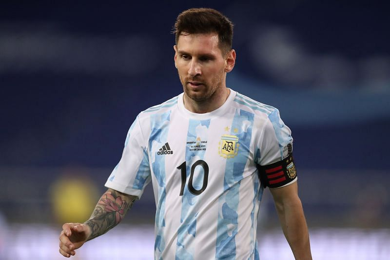 Lionel Messi scored in Argentina draw. (Photo by Buda Mendes/Getty Images)