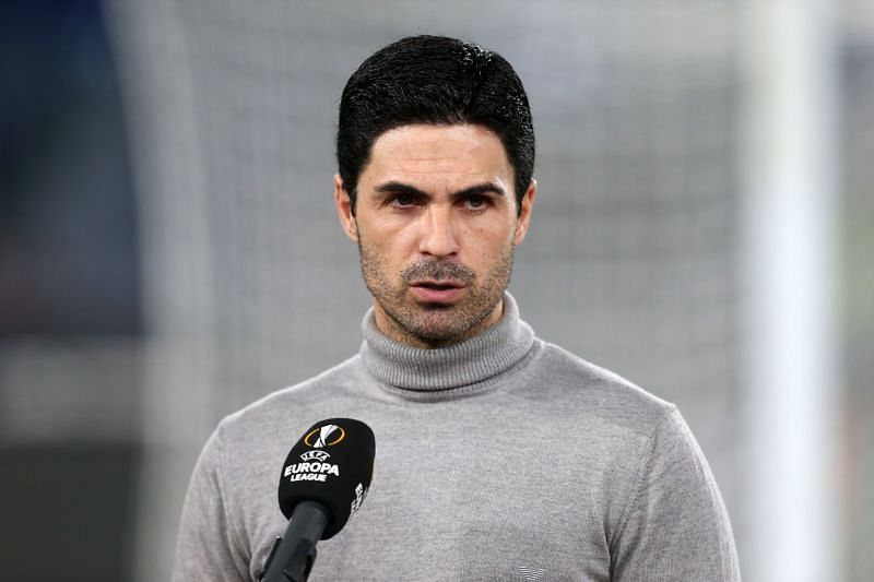Arsenal manager Mikel Arteta. (Photo by Paolo Bruno/Getty Images)