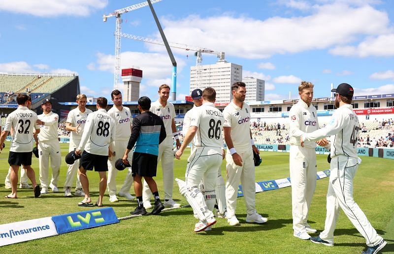 New Zealand defeated England in an away Test series for the first time in this century