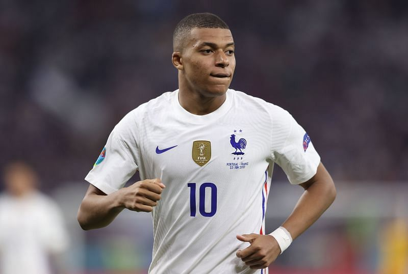 Mbappe is currently starring for France at Euro 2020