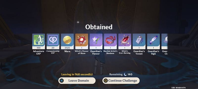 Players can use 5-star artifacts to greatly improve their characters. (image via Genshin Impact)