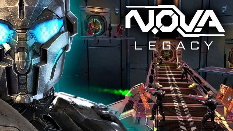Players can experience the entire N.O.V.A. package in a 47MB download (Image via Gameloft, YouTube)