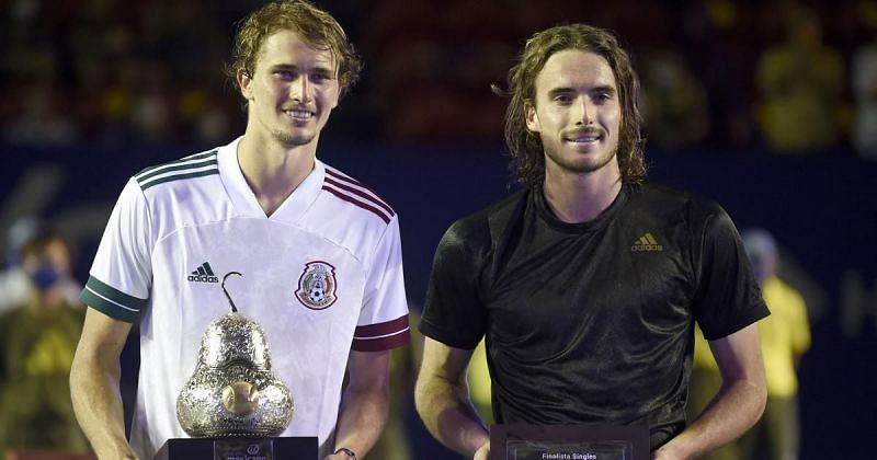 Alexander Zverev beat Stefanos Tsitsipas earlier this year in the finals of Acapulco
