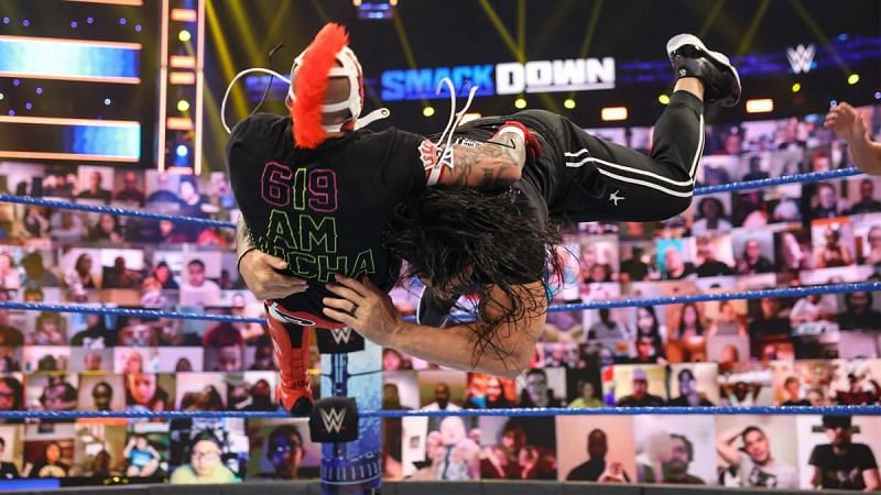 Roman Reigns unleashed hell on WWE SmackDown tag Team Champions