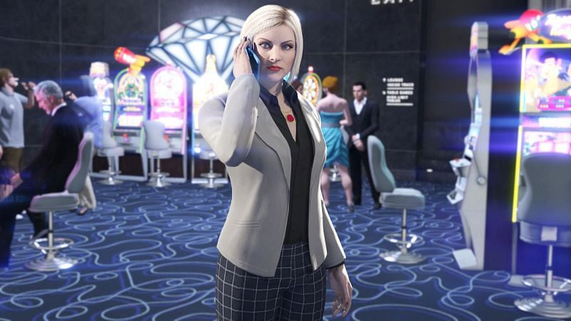 The secret drunk casino missions in GTA Online are very luck-based to unlock (Image via Rockstar Games)
