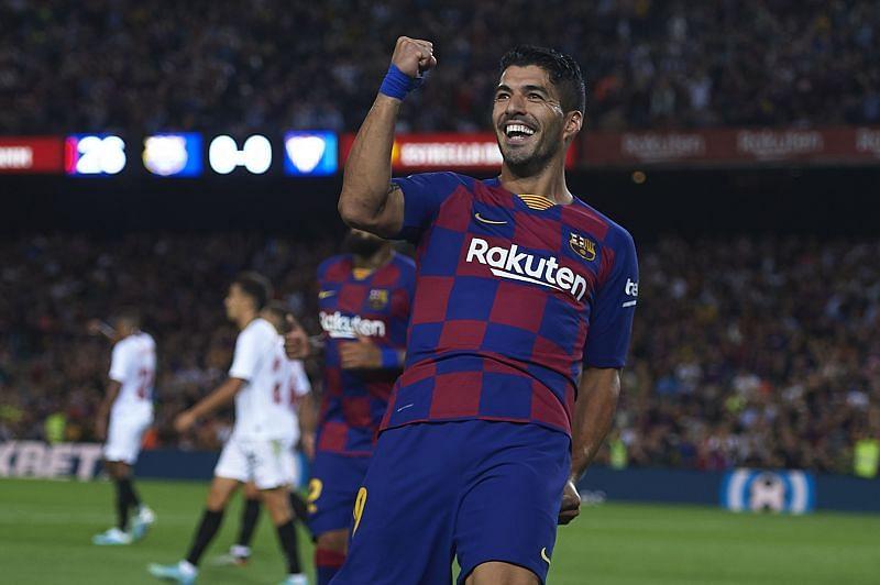 Luis Suarez during his Barcelona days