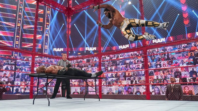 How did WWE RAW do with their fallout episode after the Hell in a Cell pay-per-view?