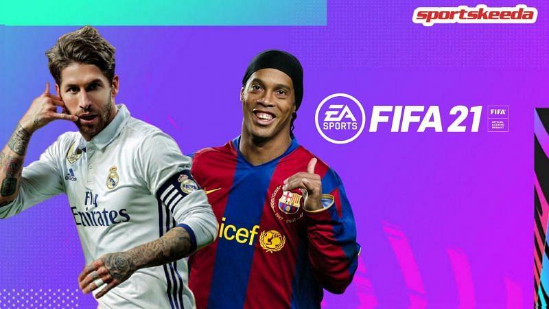 Ronaldinho sweeps Sergio Ramos over two legs in GWB FIFA 21 El Clasico