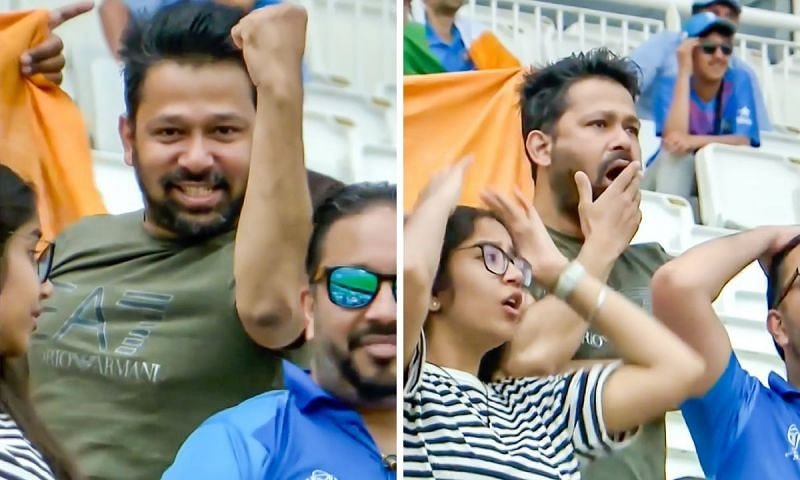 The Indian fan was in for a reality check as Ajinkya Rahane's wicket fell