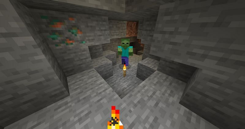 Properly spawn proof caves (Image via Minecraft Wiki)