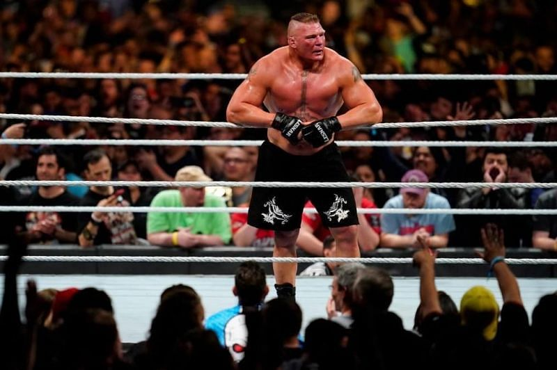 Brock Lesnar has multiple high-profile matches under his belt