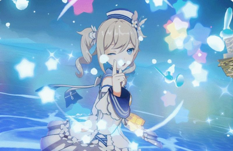 Players can get this outfit during the Echoing Tales event (Image via miHoYo)
