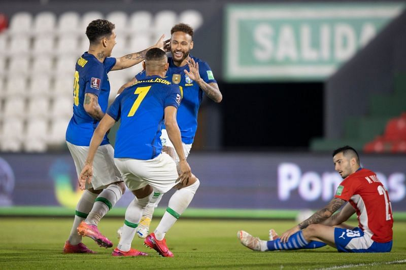 Brazil continued their flying start in the qualifiers